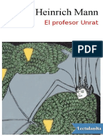 El Profesor Unrat - Heinrich Mann