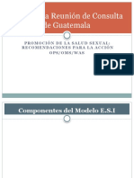 Encuentro Multidisciplinario ESI