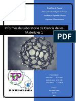 Informes de Laboratorio ciencias de materiales
