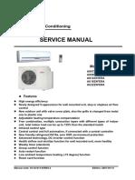 Service Manual X-Multi AU182XFERA