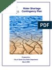 Water Shortage Contingency Plan - Santa Cruz CA