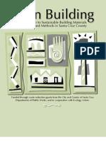 Green Building Brochure