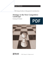 Prahalad, C. K - Strategy in the New Competitive Landscape - Participant Material - The Linkage Exce.pdf