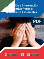 Prevencion e Intervencion Educativa Frente Al Acoso Entre Estudiantes