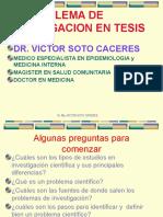 Tesis I - El Problema Científico