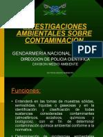 Procedimiento Investigación en Casos de Contaminación