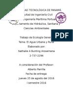 Trabajo de Ecología