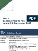Parade Senin Oka 7 26-9-2016