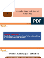 Ch 1 - Introduction to Internal Auditing