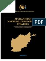 Interim - Afghan National Development Strategy