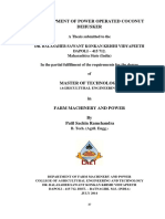 64 Development of Power Operated Coconut Dehusker (2014) (Patil s.r)