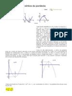 Coordenadas Do Vértice Da Parábola - Alunos Online