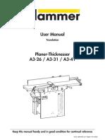 Manual combinada Hammer