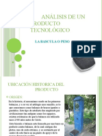 Analisis Tecnologico de La Bascula