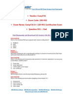 220 901 Exam Dumps With PDF And VCE Download End