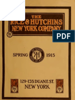 (1915) Catalogue of the Rice & Hutchins