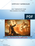 Libros Proféticos y Sapienciales