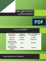 Celdas Galvánicas - PDF
