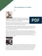 Reseña Del Cooperativismo en Colombia