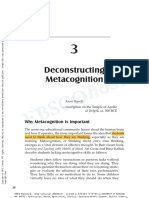 deconstructing metacognition
