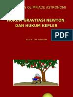 1b111. Hkm Gravitasi Newton Dan Hkm Kepler (Rt)