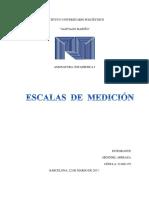 Escalas de Medicion (Hendder)