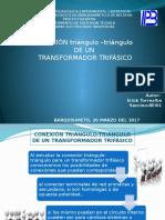 Conexion Delta-Delta de Un Transformador Trifasico