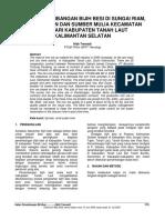 Kajian penambangan bijih besi di Sungai Riam, Kab. Tanah Laut Kalsel.pdf