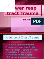 Lower Resp Trauma