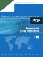 Perspectivas de La Economia Mundial 2010