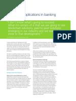 Blockchain App in Banking