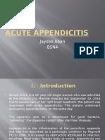 Acute Appendicitis Powerpoint