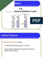 6 8 Partial Pressure Daltons Law