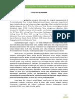 01 Executive Summary Revisi RPJMD Kaltim 2013-2018, 24 Okt 2016