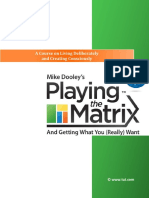 Dooley -Playing the Matrix