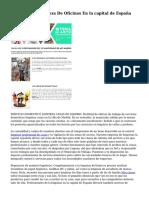 Empresa De Limpieza De Oficinas En la capital de España