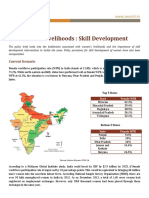 Women Livelihoods and Skill Development in India