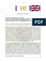 Position Paper - UK