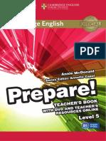 Prepare 5 Teacher s Book eBook