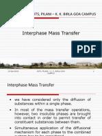 Interphase Mass Transfer