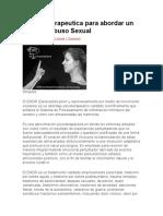 Tecnica Terapeutica Para Abordar Un Caso de Abuso Sexual