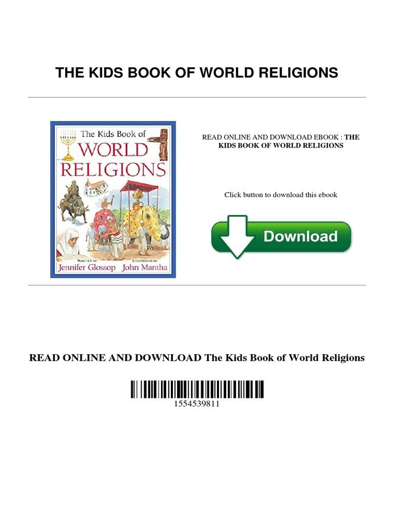 The kids book of world religionspdf major religious groups shrine fandeluxe Gallery