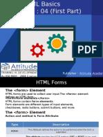 Learn Advanced and Basic HTML - Lesson 4 (i)