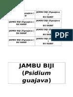 Jambu Biji