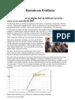 Planejamento de Software Baseado em Evidencias