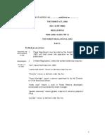 Forest Regulations
