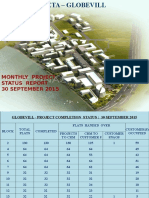 GlobeVill - Monthly Project Status 30 September - 2015