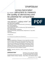 Buehlmann Et Al. the Democracy Barometer
