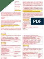 Evaluación Del Curso de Preparacioncon Claves