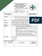 2.3.9.3 SPO Umpan Balik (Pelaporan) Dari Pelaksana Kpd PJ Program Dan Pimpinan Pusk Utk Perbaikan Kinerja Ok